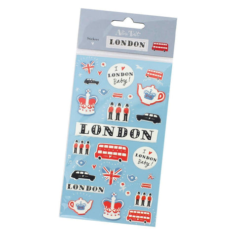 London Puffy Stickers Pack