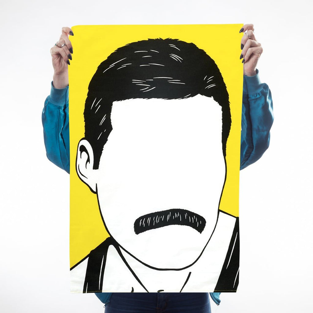 Icons Freddie tea towel