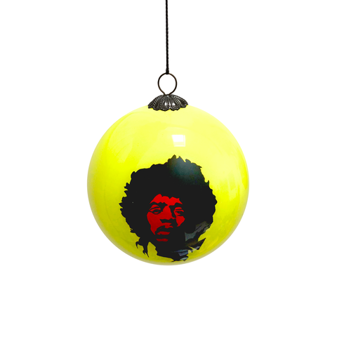 Hendrix Hand Painted Bauble