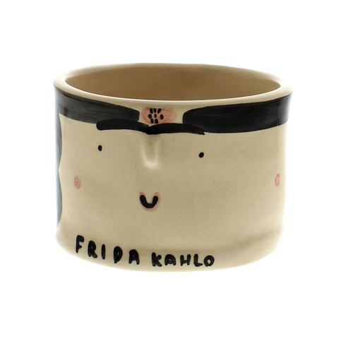 Frida Kahlo Ceramic Pot