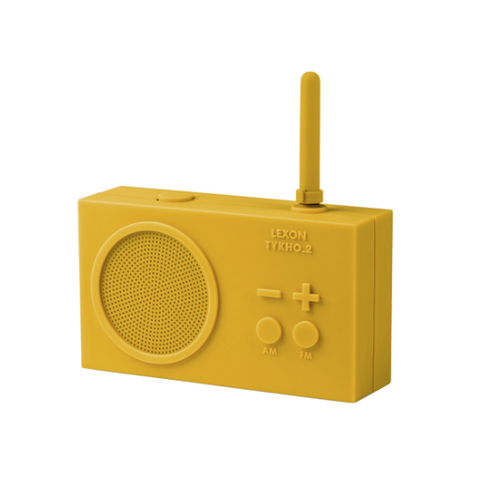 Rechargeable Radio Yellow