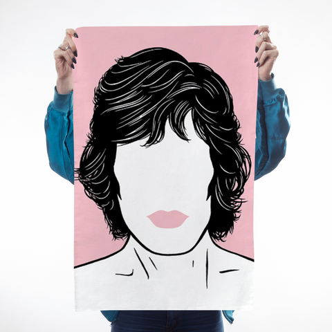 Icons Mick Tea Towel