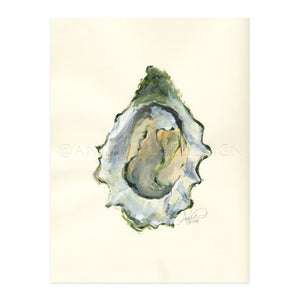 Oyster, Acrylic on Paper