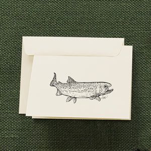 Rainbow Trout Stationery Set