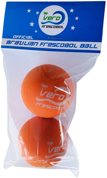 2 Official Papaya Orange Frescobol Balls
