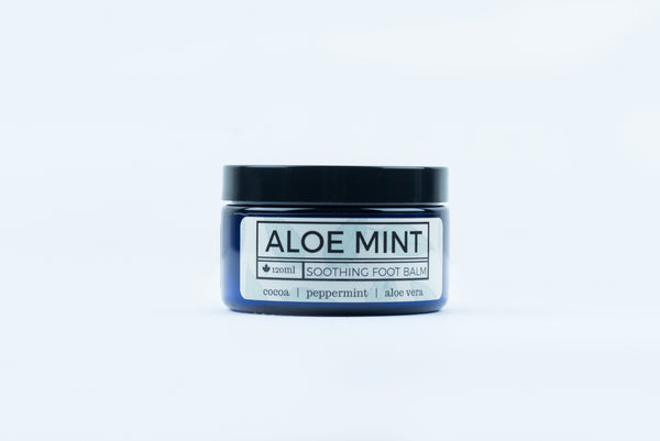 Aloe Mint Foot Balm - Parkdale Butter