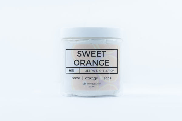 Sweet Orange Ultra-Rich Lotion - Parkdale Butter