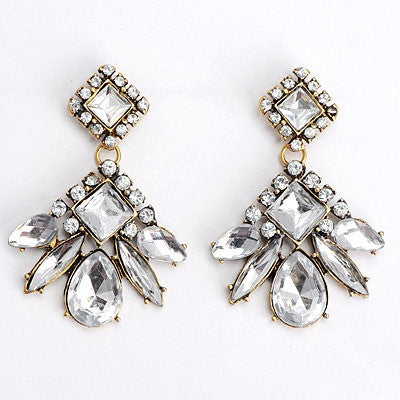 Gatsby Crystal Earrings