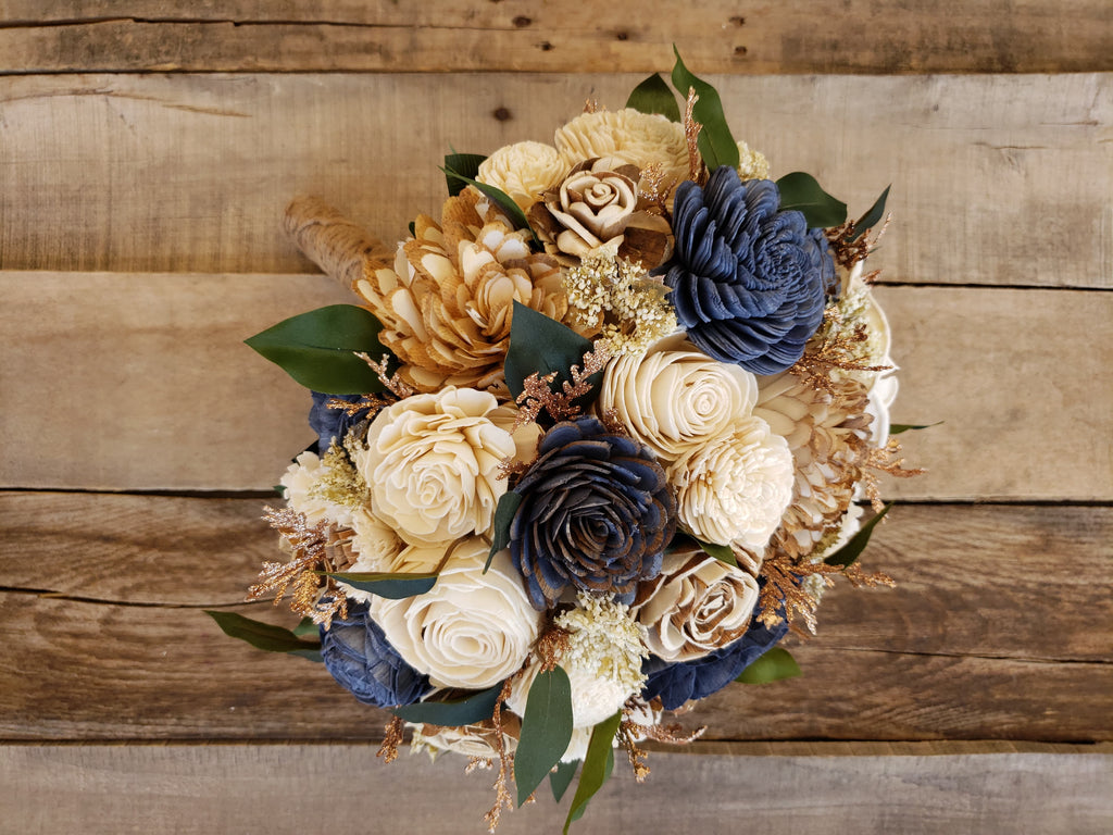 **CLOSEOUT SALE** Country Glam Bridal Bouquet, Bridal Bouquet, Rose & Bee Organics, Rose & Bee Organics - Rose & Bee Organics