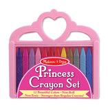 Melissa & Doug Princess Crayon Set