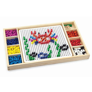 Pattern Pegboard and Ludo