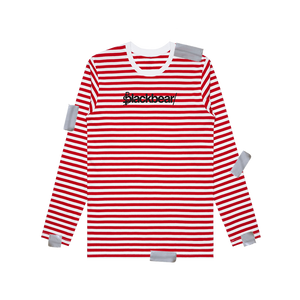RED STRIPED LONGSLEEVE