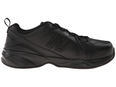 MX608v4 - Black by New Balance - Ponseti's Shoes