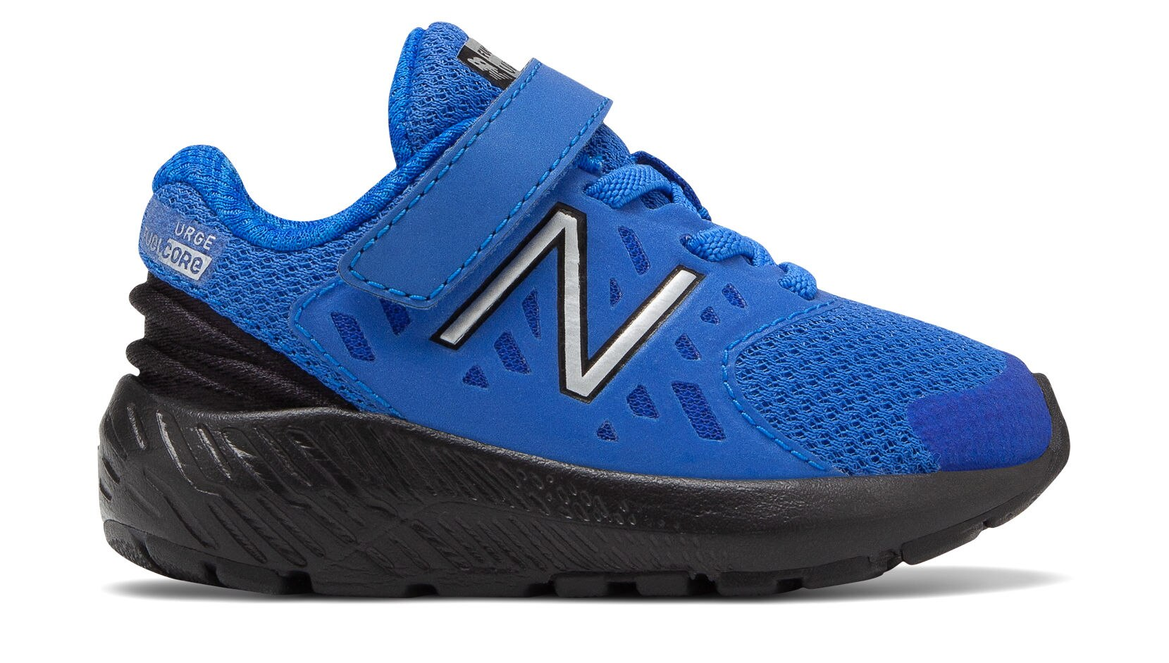 FuelCore Urge Velcro - Cobalt / Black by New Balance - Ponseti's Shoes