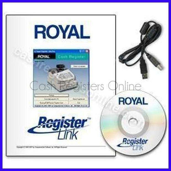 Royal Cash Register Link Polling Software - Cash Registers Online