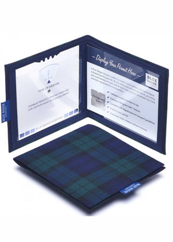 Permit Cover by Blue Badge Company - Tartan