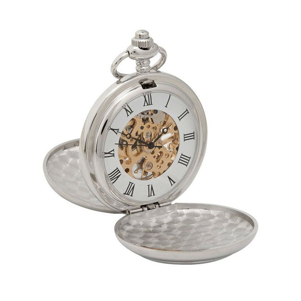 Trinity Knot Mechanical Pocket Watch