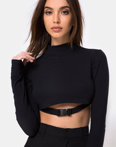 Gocea Crop Top in The Sun, Lovers and Soul by Motel
