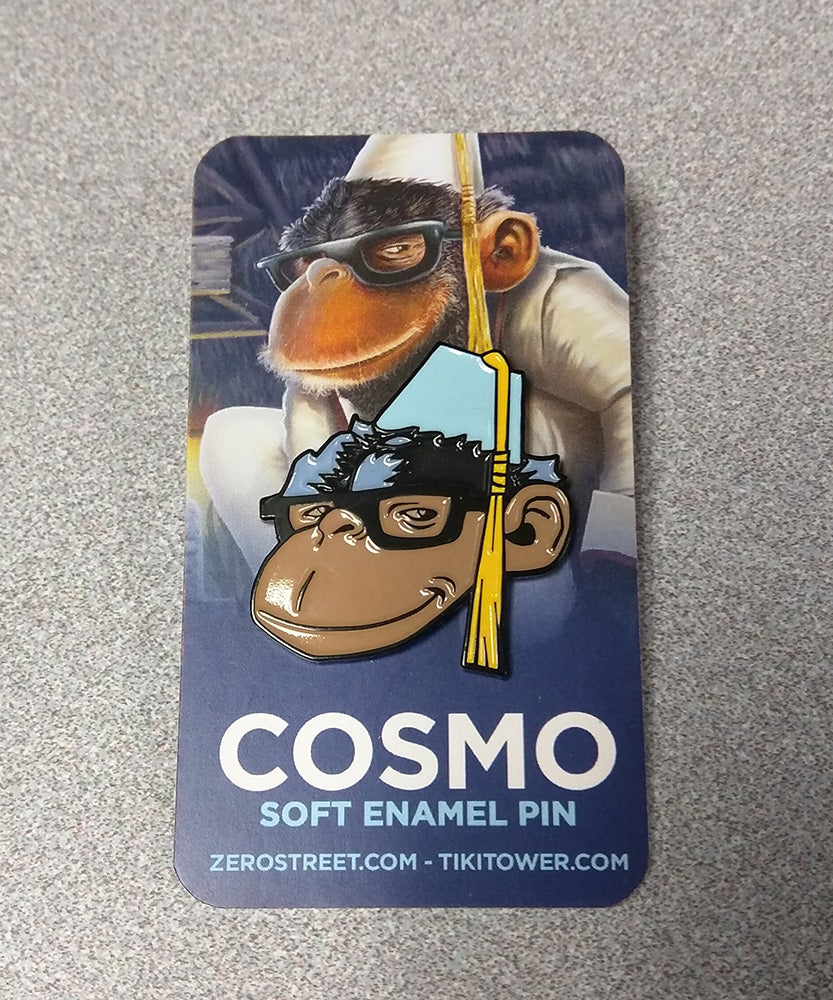 Cosmo At The Moon Palace Soft Enamel Pin