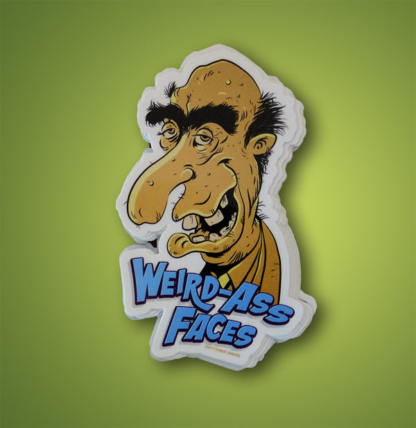 Weird-Ass Faces Sticker 2
