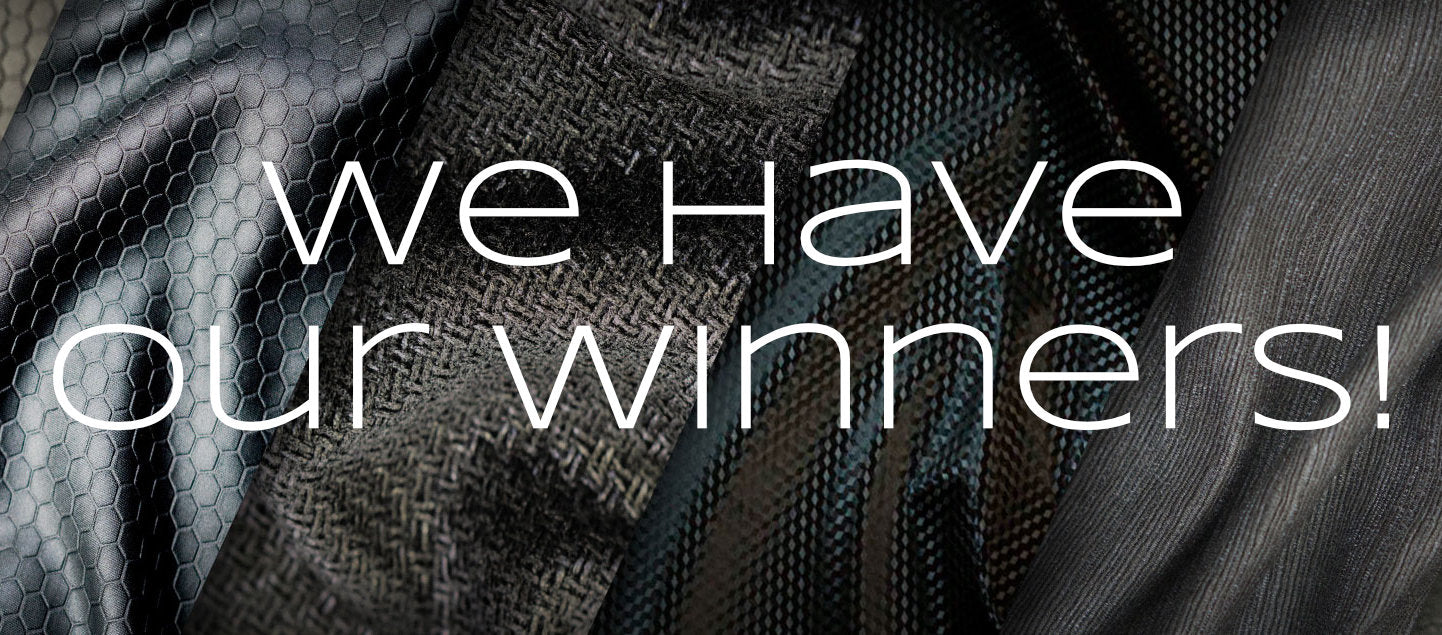 Black Friday Fabric Contest Winners!