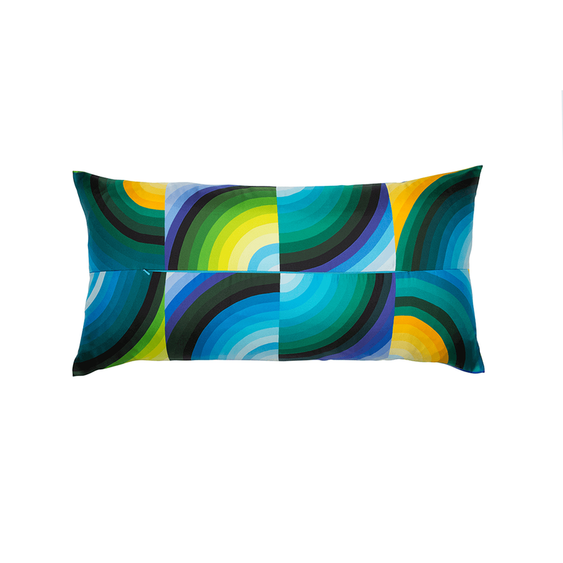 """Marcelina"" Hermès Silk Scarf Pillow"