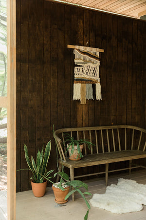 """Lakeside"" Macrame Wall Hanging"
