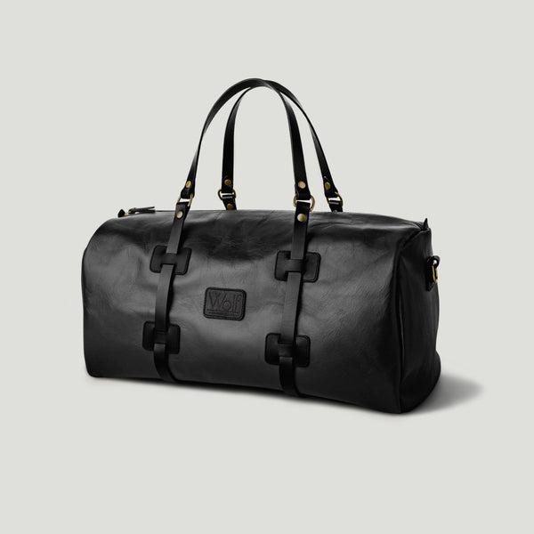 Wolf Leather Weekender Black - Wolf Leather Goods