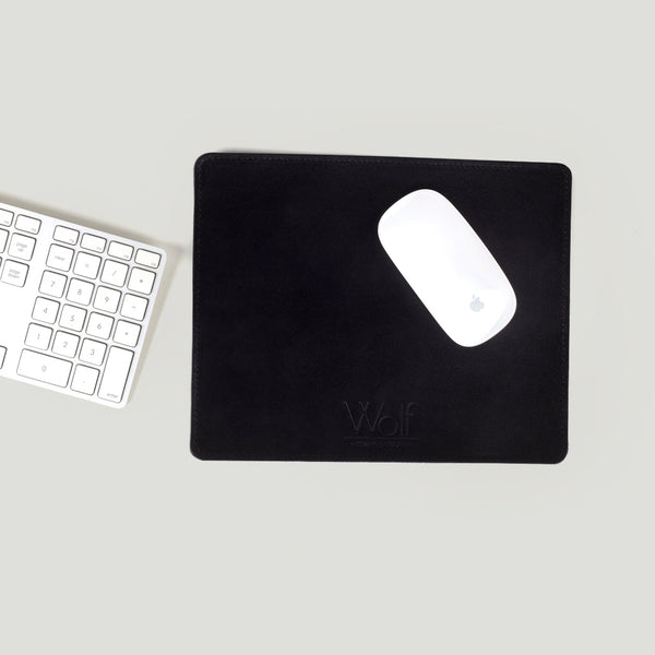 Wolf Leather Mouse pad Black - Wolf Leather Goods
