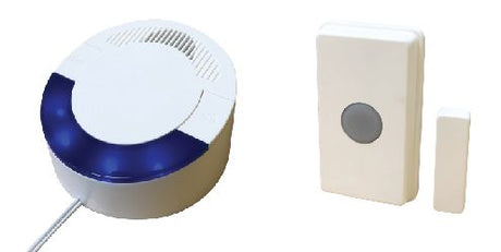 RC 16 (UT/DCR4000) Wireless Doorbell/ Magnetic Contact Set - Reliable Chimes