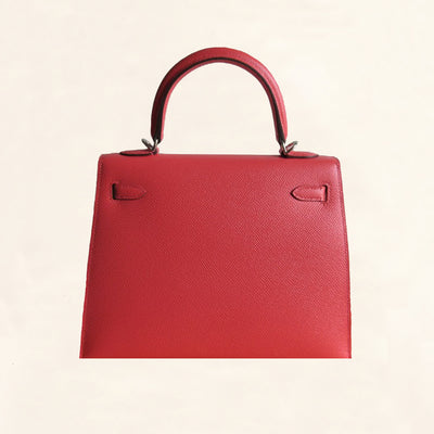 Hermès | Epsom Rose Jaipur Kelly with Palladium Hardware | 25 - The-Collectory