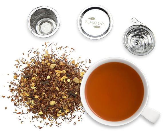 Organic Pumpkin Spice Loose Leaf Herbal Tea - Femallay