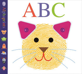 Alphaprints ABC Board Book - K and K Creative Toys