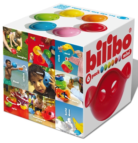 Bilibo Mini 6 pack - K and K Creative Toys