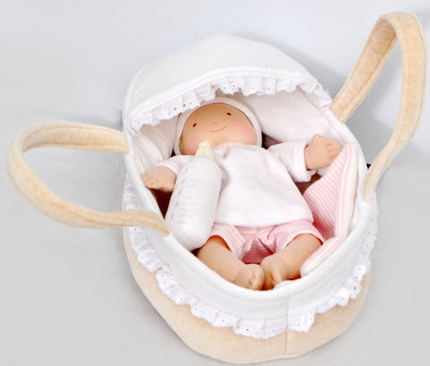 Bonikka Carrycot and Baby - K and K Creative Toys