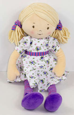 Bonikka Rag Doll- Dame Peggy - K and K Creative Toys