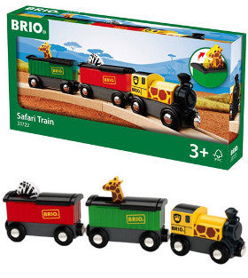 Brio Safari Train Wooden - K and K Creative Toys