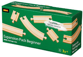 Brio Train Expansion Pack Beginner 11pc - K and K Creative Toys