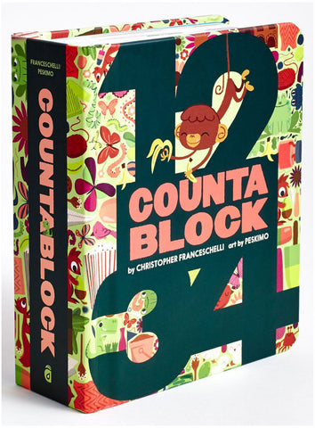 Counta Block Book - K and K Creative Toys