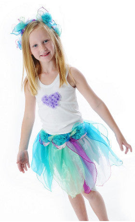Fairy Girls Dress Up Pixie Skirt Pastel - K and K Creative Toys