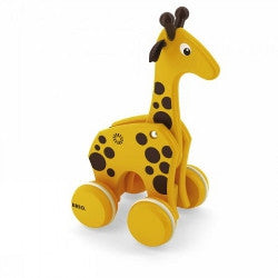 Brio Pull Along Giraffe Wooden - K and K Creative Toys