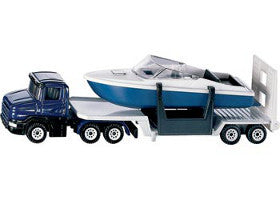Siku Truck Low Loader with Boat