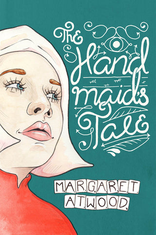 The Handmaid's Tale by Margaret Atwood - Illustrated Book Cover