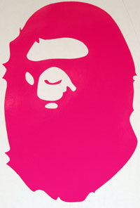 Bape Gorilla Sticker - sticker blimp decals