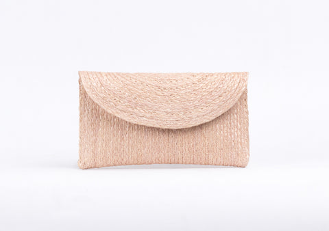 Bangkok Craft - Sisal Mini Clutch Bag (blonde)