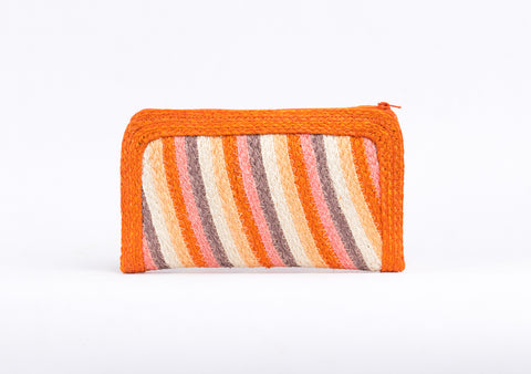 Bangkok Craft - Sisal Wallet Bag (Orange)