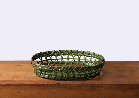 Komkrit - Green Bamboo Tray