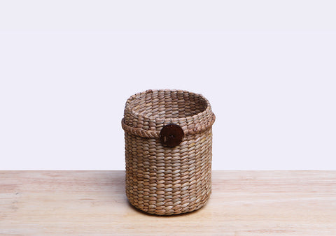 Straw Pencil Holder