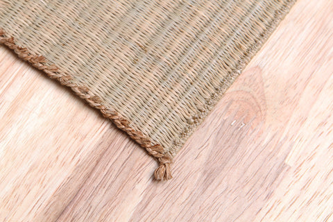 ELEMENTSEDEN - Handwoven Jute Sedge Square Coaster (Natural)