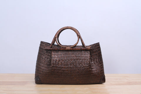 Shappybag - Gardenia Seagrass wicker handbag